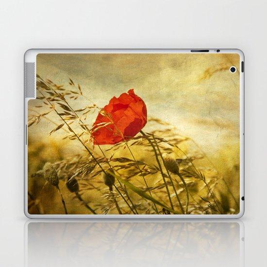 paint a poppy Laptop & iPad Skin