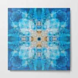 I Dream in Blue Metal Print