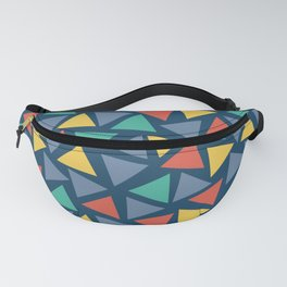 Triangles Mosaic Pattern Fanny Pack
