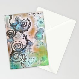 Vintage swirl Stationery Cards