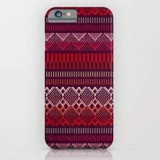 Weave (brown) Slim Case iPhone 6s