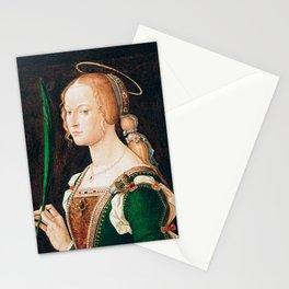 Montagna - Saint Justina of Padua Stationery Cards