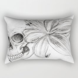 Skullgazer Lily Rectangular Pillow
