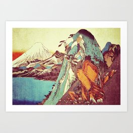 Rapture at Kunimata Art Print