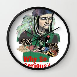 Why So Serious?! Wall Clock
