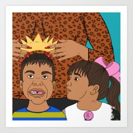 Sons and Daughters Art Print