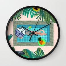 Summer in Marrakech Wall Clock