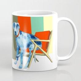 Great Dane in Chair #1 Coffee Mug