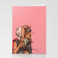 tank girl Stationery Cards featuring Tank Girl by Joe carver