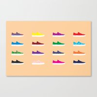 vans Canvas Prints featuring Vans by Kayla Ivey