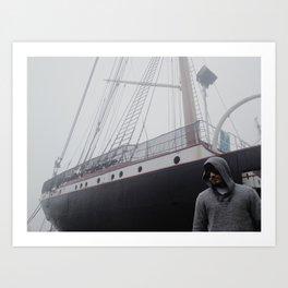 Seaport Phantom Art Print