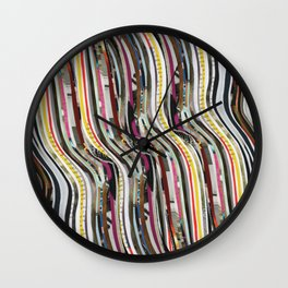 Tropical Sun Waves Wall Clock