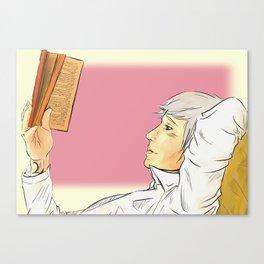 Will's book thief Canvas Print