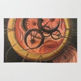 Cthulu Compass Rug