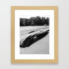 Stranded Framed Art Print
