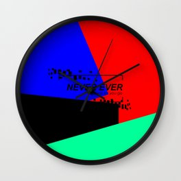 GOT7 NEVER EVER Wall Clock