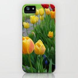 Tulipops Lollipops iPhone Case