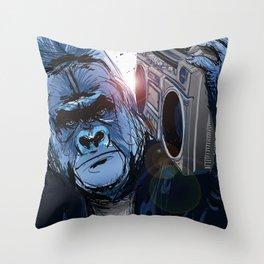 Original Gorilla Throw Pillow