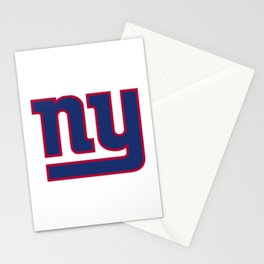 NYG Logo Stationery Cards
