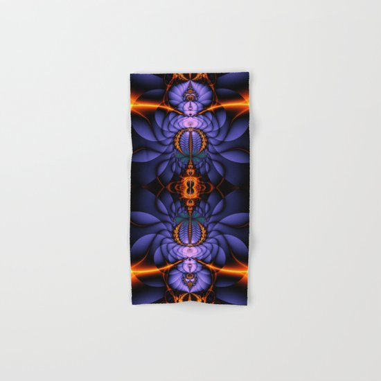 Released, Artistic Fractal abstract  Hand & Bath Towel