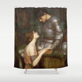 John William Waterhouse - Lamia Shower Curtain