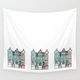 DC Row House No. 2 II U Street Wall Tapestry