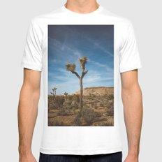 Joshua Tree National Park VI Mens Fitted Tee MEDIUM White