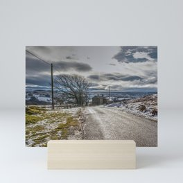 Snow scene at Muggleswick Mini Art Print