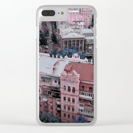 Kiev city Clear iPhone Case