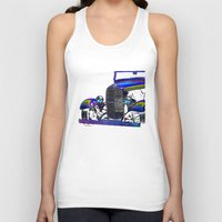 ford Tank Tops featuring Ford Abstract by Beach Bum Pics
