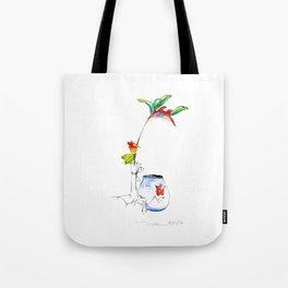 Bird of Paradise 2016 Tote Bag