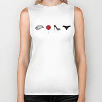 rocky horror picture show Biker Tanks featuring Rocky Horror Picture Show Icons by ThoughtfulWish