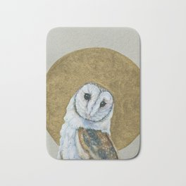 Sainted Owl Bath Mat
