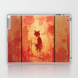 Glimpse Of A Fox In The Forest Laptop & iPad Skin