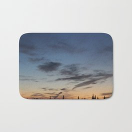gradient sunset Bath Mat