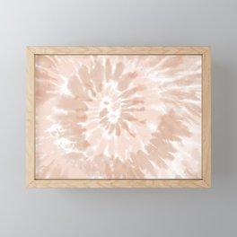 Neutral Tie-Dye 02 Framed Mini Art Print