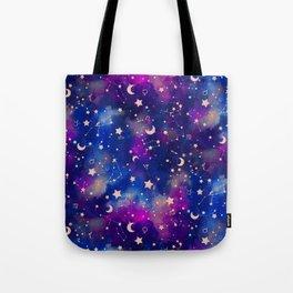 Zodiac - Watercolor Dark Tote Bag