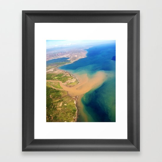 North West Haiti Framed Art Print
