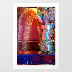 Creature Glitch #2 Art Print