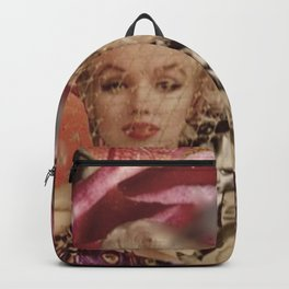 Marilyn Collage Backpack