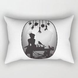 You're One Of Them, Aren't You? Dark Romance Valentine Rectangular Pillow
