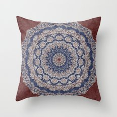 A Glorious Morning (Mandala) Throw Pillow