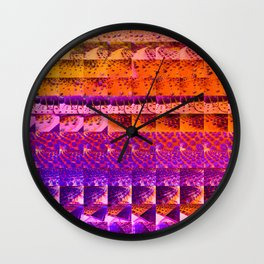 cactus gradient 506 Wall Clock