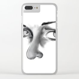 Thoughtful Clear iPhone Case