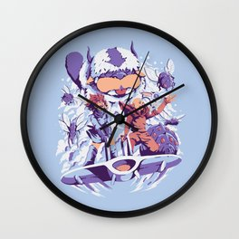 From the valley of the wind Wall Clock
