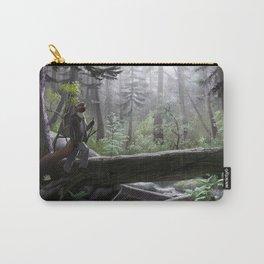 Coastal Rainforest Carry-All Pouch