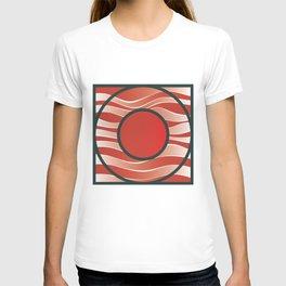 Shiny Japan Sun on Uranus T-shirt