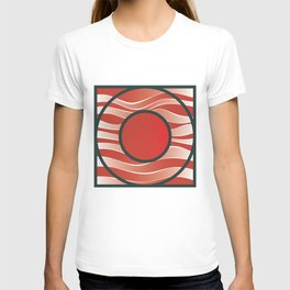 Shiny Japan Sun on Uranus T-shirt