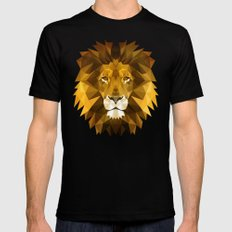 Lion Mens Fitted Tee Black 2X-LARGE