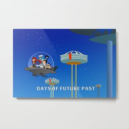 days of future past, jetsons Metal Print